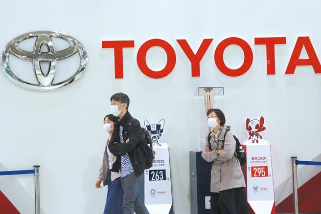 日本車廠龍頭的豐田正積極擴增自駕技術版圖。圖/美聯社