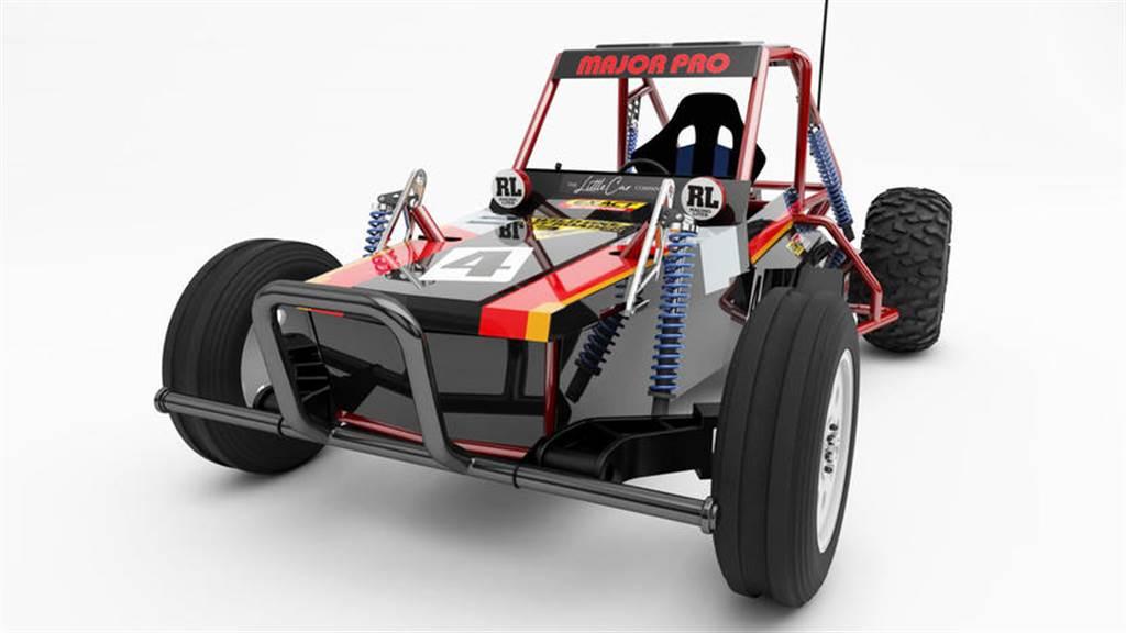 童年夢想成真!TAMIYA 田宮遙控車變成實際能開的電動車,24 萬元有找
