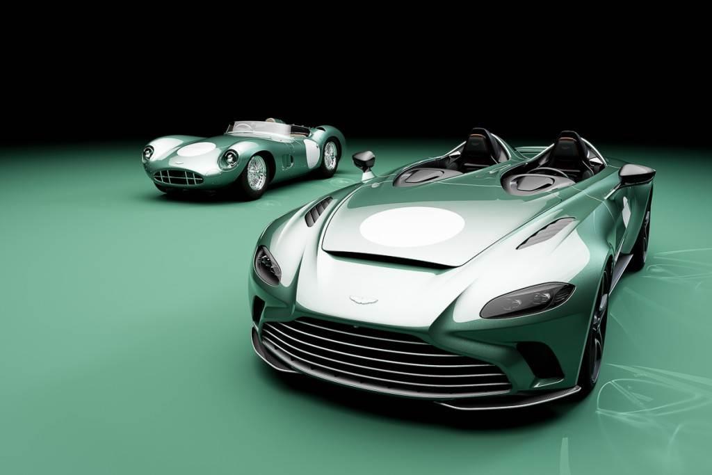 紀念昔日賽道榮光 Aston Martin 珍稀推出 V12 Speedster Bespoke Specification DBR1