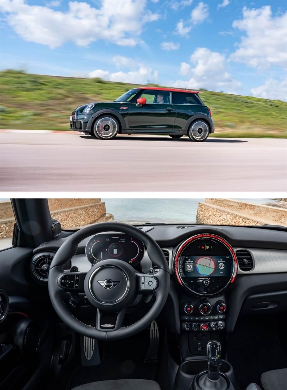 強烈個人風格和高性能裝彈!無可取代的MINI John Cooper Works Hatch與Convertible