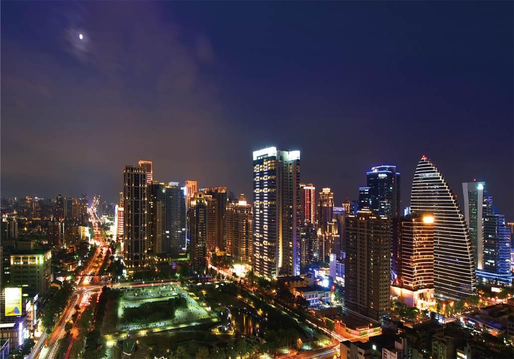台中在地建商與上市開發商皆積極布局台灣大道精華地段(圖/業者提供)
