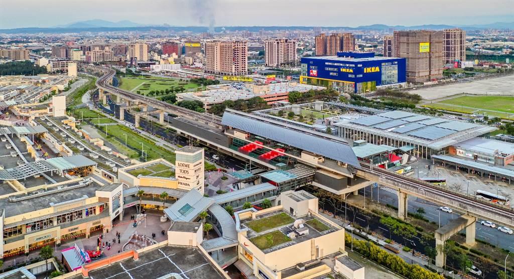 桃園高鐵特區大型建設湧入,成為北客熱門移入首選。(業者提供)