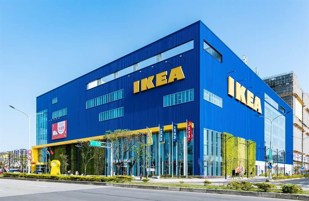 IKEA多以鎖定區內商業區核心地段為主,圖為青埔IKEA旗艦店。(業者提供)