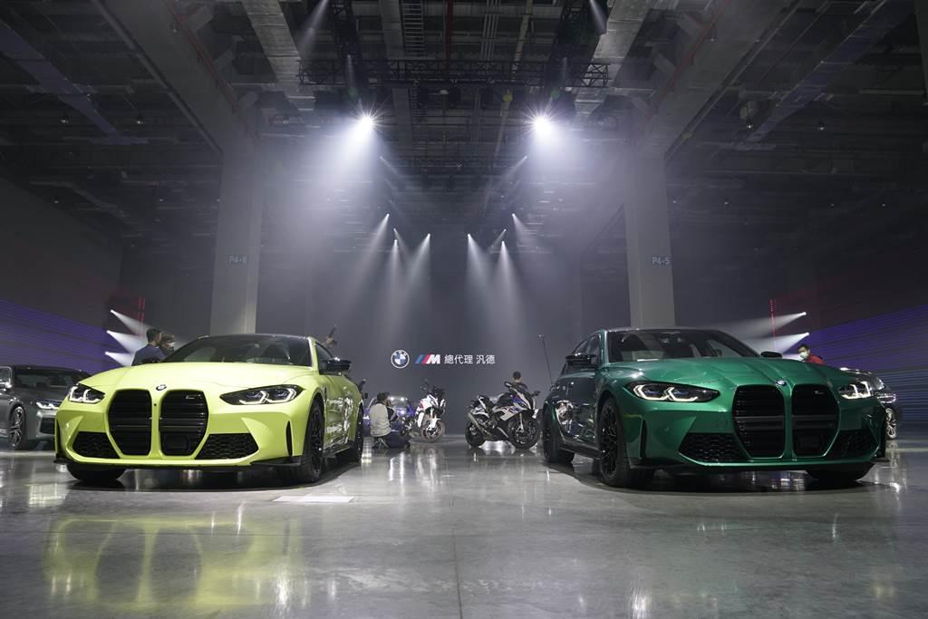 BMW最強街頭野獸M3 Competition / M4 Competition 555萬元起上市。