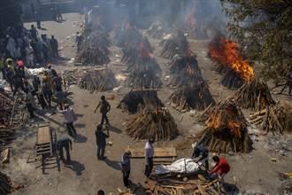 印度確診破1800萬 掘墓工得24小時輪班埋葬遺體