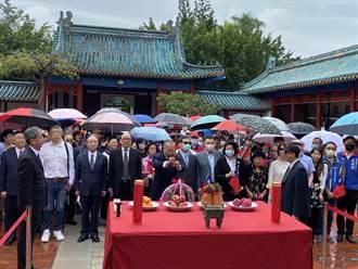 感念鄭成功光復台灣6甲子 松濤社300多人祭祀