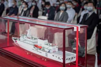 海巡艦艇新增TAIWAN塗裝 蔡英文:清楚辨識