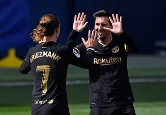 足球》巴薩放大招挽留梅西 開10年長約再搶德甲巨星