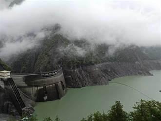 中部鯉魚潭、德基百萬噸入庫 全台用水小增不到2天