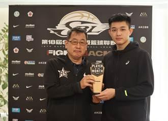 SBL》菜鳥摘月MVP 盧峻翔預約年度新人王