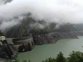 雨神解渴每小時進水1.4萬噸 德基水位較昨回升36公分