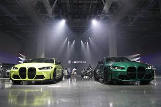 BMW最強街頭野獸M3 Competition / M4 Competition 555萬元起上市