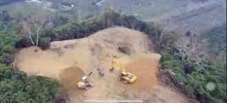 枋寮山頭禿一塊 光電業者:進行水保工程必要階段