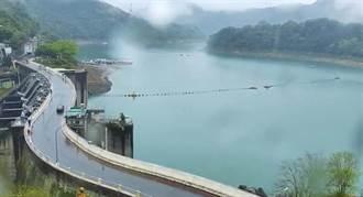 鋒面挹注全台進帳1597萬噸用水 這座水庫吃最飽