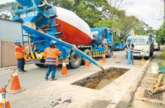 道管中心嚴控 新北挖路量驟減