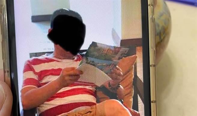 大安分局警員遭控假扮竹聯幫弘仁會成員,警方澄清純屬辦案。(圖/臉書_爆料公社公開版)