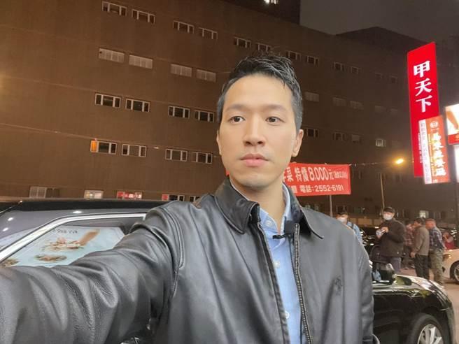 民進黨立委何志偉(吳家豪攝)