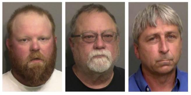 非裔男慢跑遭槍殺 3白嫌被控聯邦仇恨和綁架罪。(圖/美聯社)