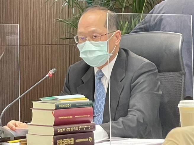 金管會銀行局副局長林志吉。(圖/魏喬怡)