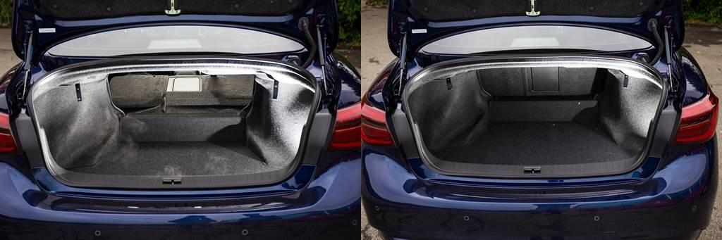 行李廂空間擁有500L容積,並可透過後座椅背傾倒來擴充。