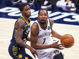 NBA》有杜蘭特就搞定 狂轟42分領籃網4連勝