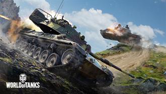 《戰車世界》正式登場Steam平台!