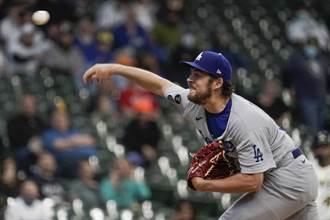 MLB》包爾8局好投無用 道奇關鍵時刻手軟輸釀酒人