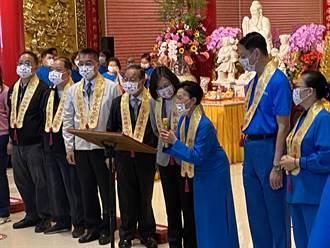 「母娘文化祭」起駕儀式 藍綠兩黨王不見王