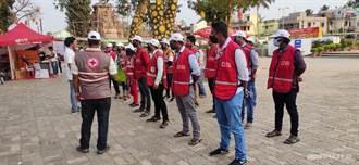 印度疫情失控  台灣紅十字會捐款3萬美元助賑災