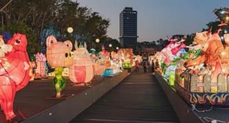 全國花燈展 周末加碼80攤的文創市集、12場次表演