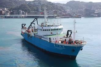 學研齊駐水試一號試驗船 守護台灣周邊漁場生態