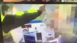 女控遭警喷辣椒水逮捕 信义分局:依法处理违序案