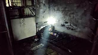 鳳山公寓惡火狂燃 7旬母90%燒燙傷 子輕傷