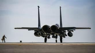 真正的「炸彈卡車」 美F-15E載2倍炸彈前線運貨