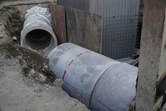 捷運三鶯線代辦排水管涵完工 改善鶯桃路淹水問題