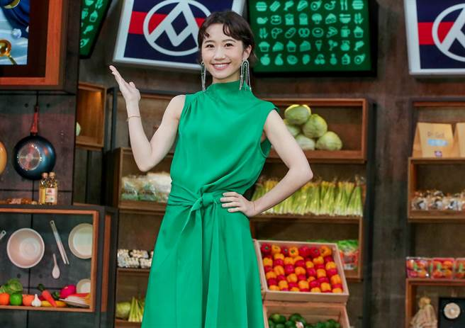 Lulu出席《料理之王2》開播記者會。(粘耿豪攝)