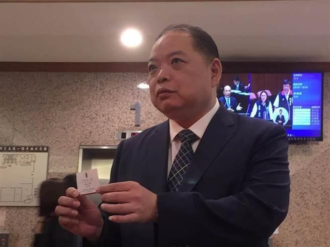 總統府國策顧問 黃承國。(圖/資料照片,吳家豪攝)