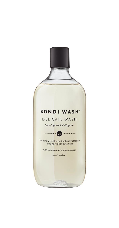 Bondi Wash藍絲柏&苦橙葉精緻衣物洗衣精500ml,680元。(Bondi Wash提供)