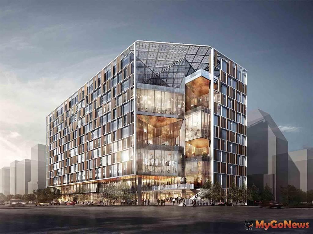 台北市現代化新南門市場,邁向黃金級綠建築(圖/台北市政府)