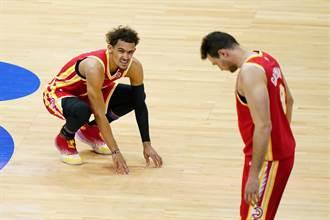 NBA》崔楊復出摘32分 老鷹卻遭七六人痛扁