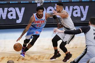 NBA》光靠厄文不夠!籃網主場遭拓荒者修理