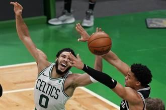 NBA》塞爾提克32分神奇大逆轉 就靠塔圖轟60分