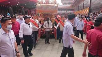 正統鹿耳門聖母廟香醮遶境 蔡英文祈求台灣順利度過疫情與水情難關