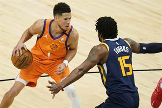 NBA》前兩強對決變調 太陽橫掃爵士搶占西區龍頭