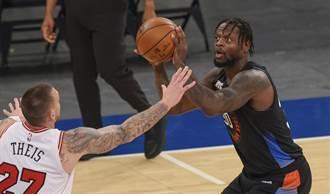 NBA》蘭道爾四月狂砍7次30+ 尼克自14年甜瓜後首人