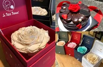 寵愛媽媽4大話題贈禮 夢幻玫瑰蛋糕、永生花超暖心