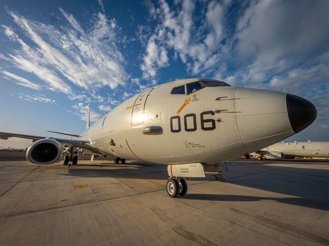 美國務院已同意軍售印度6架P-8海上巡邏機。圖為美軍P-8A。(圖/DVIDS)