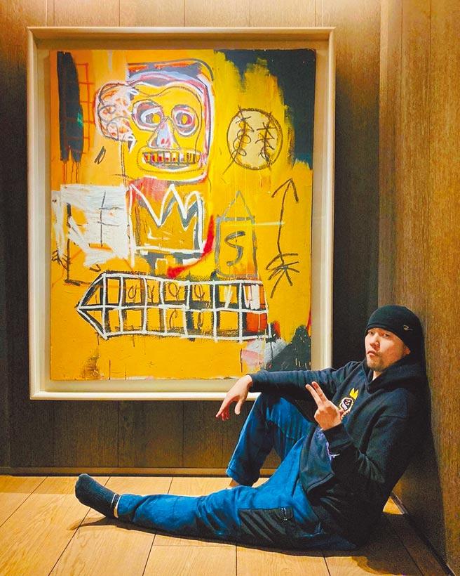 周董最近迷上收藏名畫,甚至與蘇富比跨界合作,巴斯奇亞畫作即是他的最愛之一。(摘自IG)