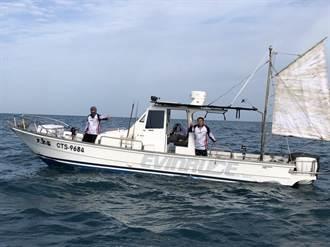 台中74一支釣漁友響應公益船釣 漁獲拍賣所得捐助育幼院
