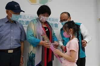 中傑鞋業劉何玉鈴年捐180萬助75生 號召姊妹淘林志穎媽來助陣